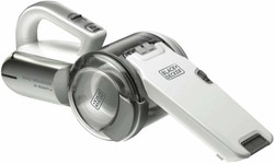 Black and Decker 18V Lithium Ion Dustbuster Pivot Hand Vac # PV1820L-XE