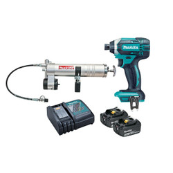 Makita 18V Cordless Grease Gun Kit - DTD152RFEX