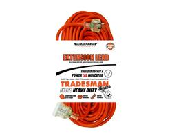 Ultracharge 25m Heavy Duty Tradesman Extension Lead - UR240/25T
