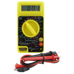 General Digital Multimeter with LED and Continuity Beeper - GENDMM830HS