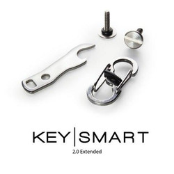 KeySmart Accessory Pack - Bottle Opener, S-Biner MicroLock and 14 Key Expansion - AKS231
