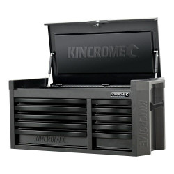 Kincrome CONTOUR 10 Drawer Wide Tool Chest Black Series - K7540
