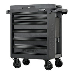 Kincrome CONTOUR 6 Drawer Tool Trolley Black Series - K7536