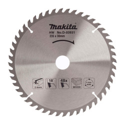 Makita 235mm 48 Tooth Circular Saw Blade # D-03931