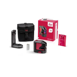 Leica Lino L2 Red Beam Cross Line Laser Starter Kit - LG848435