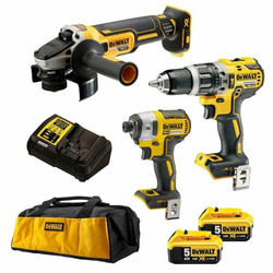 DeWalt 18V 5.0Ah Li-Ion Brushless Cordless 3pce Combo Kit - DCK321P2-XE