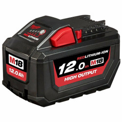 Milwaukee M18 High Output 18v 12.0Ah Battery Pack - M18HB12