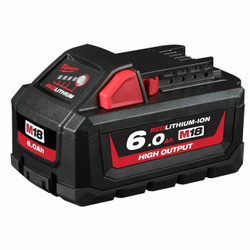 Milwaukee M18 High Output 18v 6.0Ah Battery Pack - M18HB6
