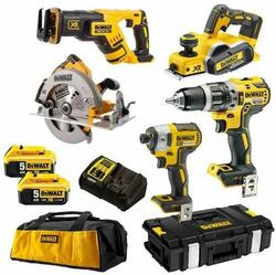 DeWalt 18V 5.0Ah XR Li-Ion Cordless Brushless 5pce Combo Kit # DCK578P2-XE