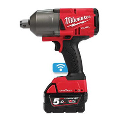 Milwaukee M18 FUEL ONE-KEY 3/4 High Torque Impact Wrench with Friction Ring Kit # M18ONEFHIWF34-502C