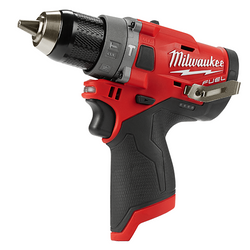 Milwaukee M12 FUEL Cordless 12v Hammer Drill Driver Tool Only - M12FPD-0