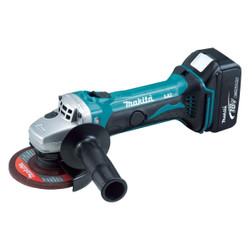 Makita 18V Cordless Angle Grinder Kit 115mm - DGA452RFE