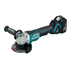 Makita 18V Cordless 125mm Brushless Angle Grinder Kit BONUS - DGA505RTE
