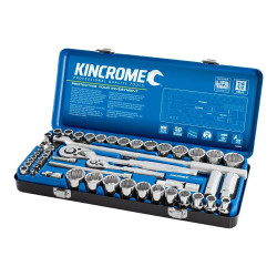 Kincrome 52 Piece 1/4 and 1/2 Drive Metric and Imperial Socket Set - K28032