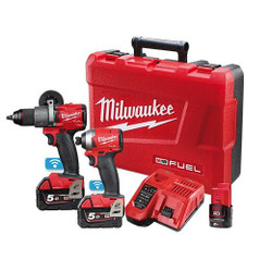 Milwaukee M18 FUEL ONE-KEY 2pce 18v Cordless Power Pack - M18ONEPP2A2-502C