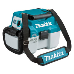 Makita 18v Lithium Ion Cordless Brushless Wet Dry Dust Extractor - SKIN - DVC750LZX1