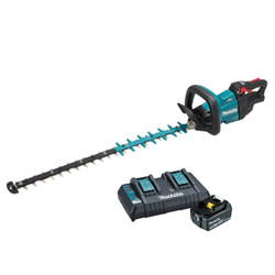 Makita 18V Lithium-Ion Cordless Brushless Hedge Trimmer 750mm Kit - DUH751PT