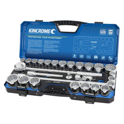 Kincrome 28pce Metric and Imperial Socket Set 3/4 Drv - K28045