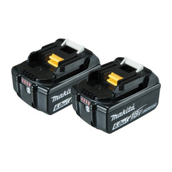 Makita 18V Lithium-Ion 6.0Ah Battery Twin Pack - 198490-0