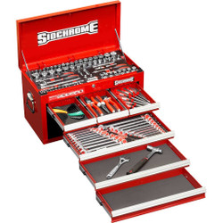 Sidchrome 139pce Metric and Imperial Top Chest Kit - SCMT10157