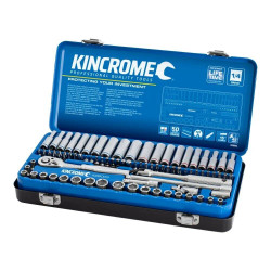 Kincrome 82 Piece 1/4 Drive Metric and Imperial Socket Set - K28003