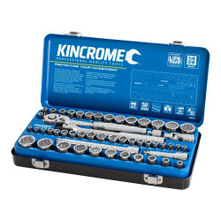 Kincrome 52 Piece 1/4 and 3/8 Drive Metric and Imperial Socket Set - K28016