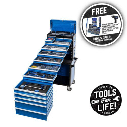 Kincrome 245pce Evolution 14 Drawer Tool Workshop - P1708