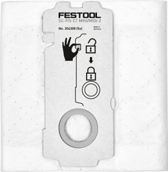 Festool CT MIDI-2 Replacement Filter Bags for CTL15 MIDI Dust Extractor - 204308