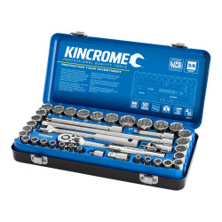 Kincrome 39pce 3/8 Drive Metric and Imperial Socket Set - K28011
