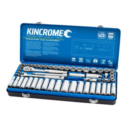 Kincrome 57 Piece 3/8 Drive Metric and Imperial Socket Set - K28014