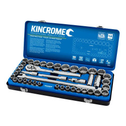 Kincrome 42 Piece 1/2 Drive Metric and Imperial Socket Set - K28022