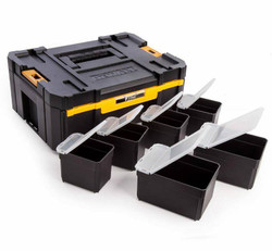 Dewalt TStak III Single Deep Drawer Storage Box with 6 Storage Totes # DWST1-70705