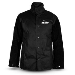 Unimig ROGUE Welding Jacket with Leather Sleeves L UMWJ-B-L