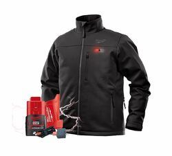 Milwaukee M12 Heated 12v Black Jacket # M12HJBLACK9-0
