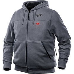 Milwaukee M12 Heated 12v Grey Hoodie Skin # M12HHGREY9-0