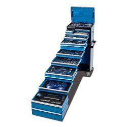 Kincrome EVOLUTION 466 Piece 14 Drawer 1/4, 3/8 and 1/2 Drive Tool Workshop - K1228