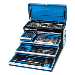 Kincrome EVOLUTION 133 Piece 6 Drawer 1/4, 3/8 and 1/2 Drive Tool Chest - K1210