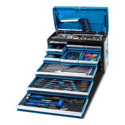 Kincrome EVOLUTION 172 Piece 9 Drawer 1/4, 3/8 and 1/2 Drive Tool Chest - K1215