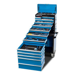Kincrome EVOLUTION 245 Piece 14 Drawer 1/4, 3/8 and 1/2 Dr Tool Workshop - K1226