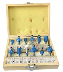 Medalist 12 Piece 1/4 Router Bit Set - 13727