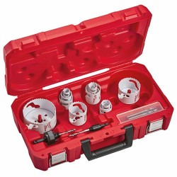Milwaukee 14 Piece Hole Dozer Plumbing Set - 49224151