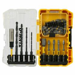 DeWALT 30pce EXTREME 1/4″ Hex Drive MAX Impact Screwdriving Set with Dual Torsion Zones # DT70725-QZ