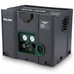 Rolair AIRSTAK Quiet 1HP Systainer Box Oil Free Air Compressor