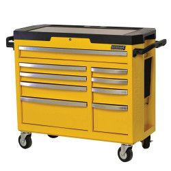 Kincrome CONTOUR 9 Drawer Tool Trolley WASP YELLOW - K7759Y