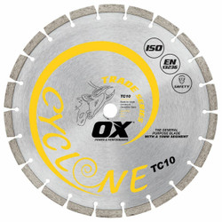 Ox Trade 9 General Purpose / Concrete Diamond Blade # OX-TC10-9