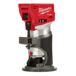Milwaukee 18V Lithium Ion Cordless Fuel Laminate Trimmer Skin # M18FTR-0