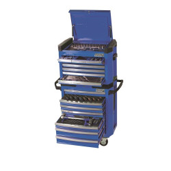Kincrome 208pce BLUE Contour Tool Chest and Trolley Workshop - K1510