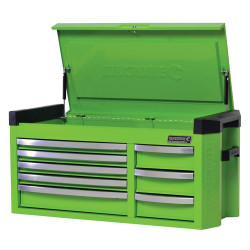 Kincrome Contour 8 Drawer Extra Wide Monster Green Tool Chest - K7758G