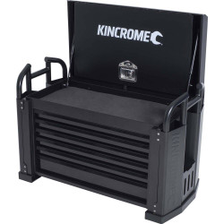 Kincrome 6 Drawer Black Off Road Field Service Tool Box Chest - K7850