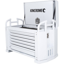 Kincrome 6 Drawer White Off Road Field Service Tool Box Chest - K7850W